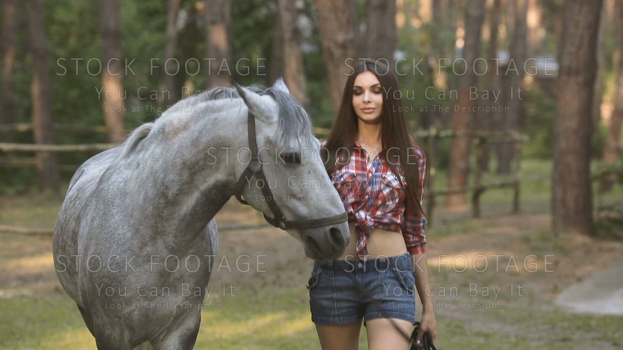 Woman sex with horse