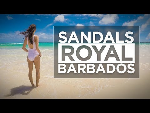 Sandals Royal Barbados Resort Vacation Travel Video Tour
