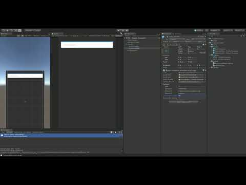 How to add autocomplete dropdown unity asset to an empty unity scene