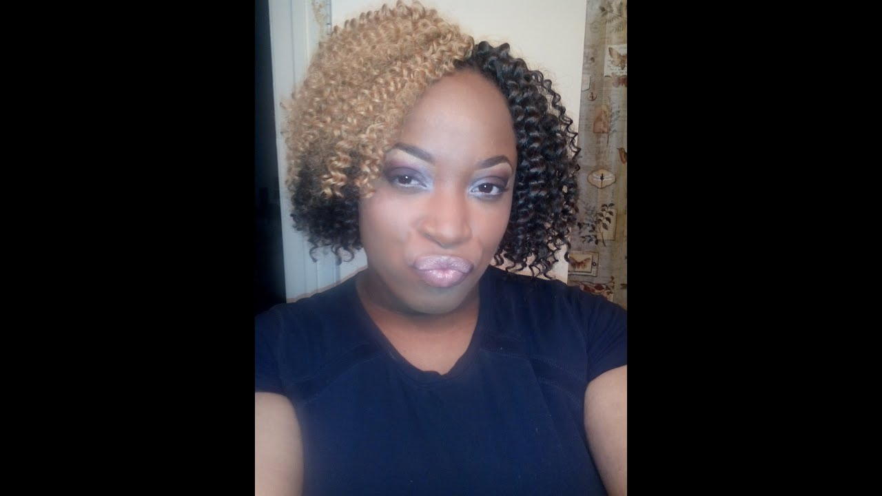 CROCHET BRAIDS WITH STYLE: PROTECTIVE HAIRSTYLE - YouTube