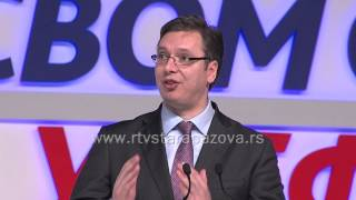 Izbori 2014  Miting SNS Sremska Mitrovica