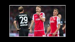 Union Berlin schafft noch ein 2:2 gegen Duisburg