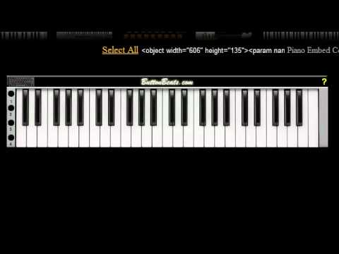 Piano : piano tabs welcome to the black parade Piano Tabs Welcome ...