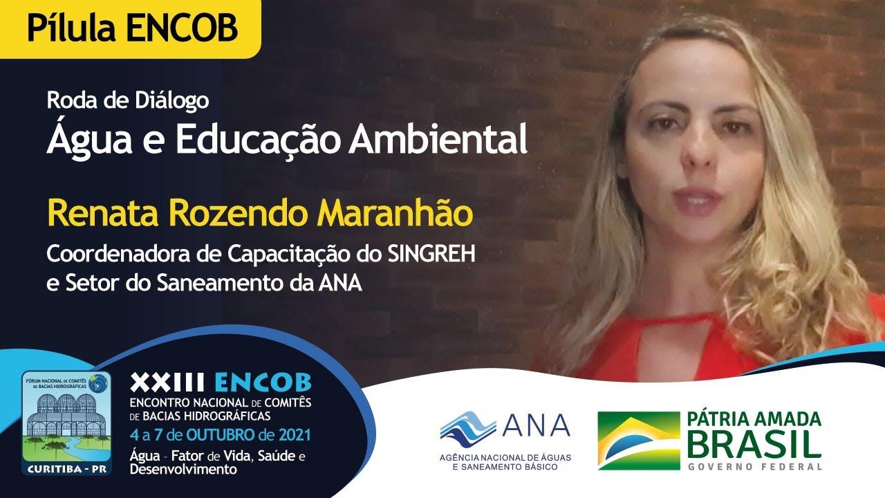 Água e Educação Ambiental - Renata Maranhão