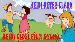 Heidi çizgi Film Oyunu Heidipeterclara Resimleri Kendin Birleştir