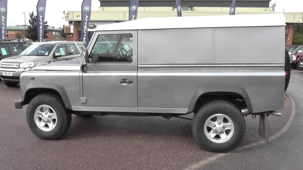 Land Rover Defender 110 Hard Top Td U9887 Youtube