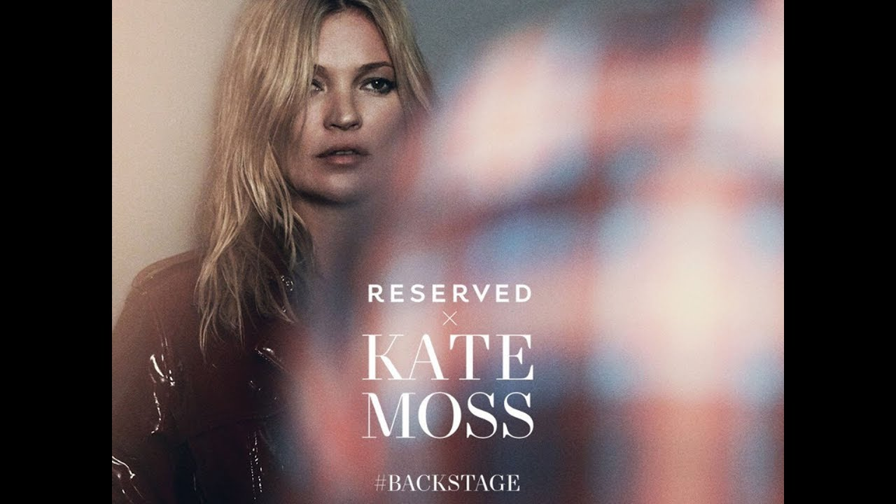Kate Moss RESERVED Backstage New Campaign Autumn Winter ...