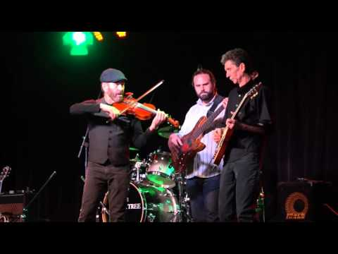 EJ Ouellette & Crazy Maggy performing at the Blue Ocean Music Hall
