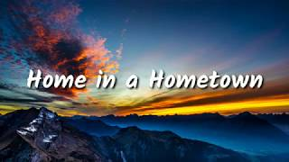 Matt Stell, Jimmie Allen - Home in a Hometown ( Lyrics)