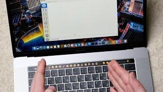 полный обзор MacBook Pro 15 с Touch Bar панелью