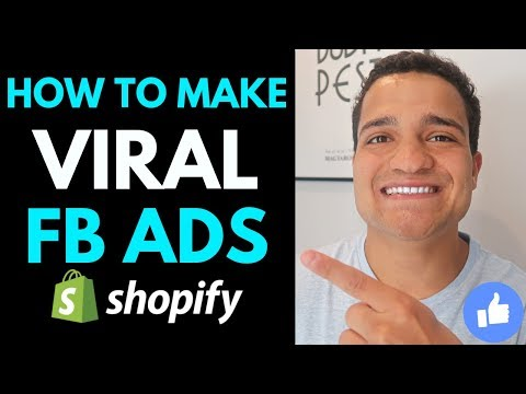 How to Make VIRAL Facebook Ads for Dropshipping (8 Figure FB Ads for Shopify Strategy 2019) thumbnail
