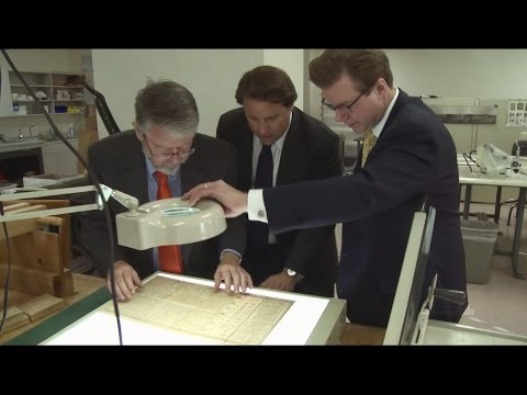Rare 1776 Printing of Declaration of Independence on Display at Cincinnati Museum Center