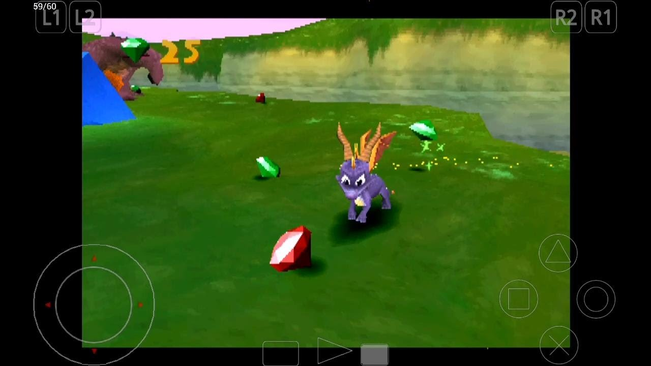 ePSXe Emulator 1 9 15 for Android | Spyro 2: Ripto's Rage! [720p HD] | Sony  PS1