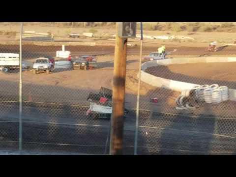 Kyle Huttenhow Heat Race 2 6/18/16 - Canyon Speedway Park