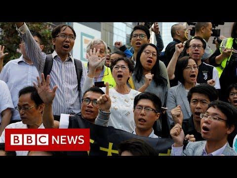 China issues warning over Hong Kong election - BBC News
