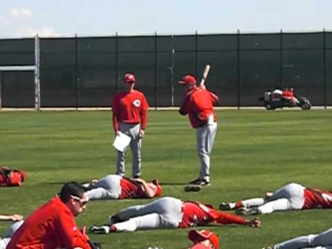 Cincinnati Reds Minor League Players Stretch