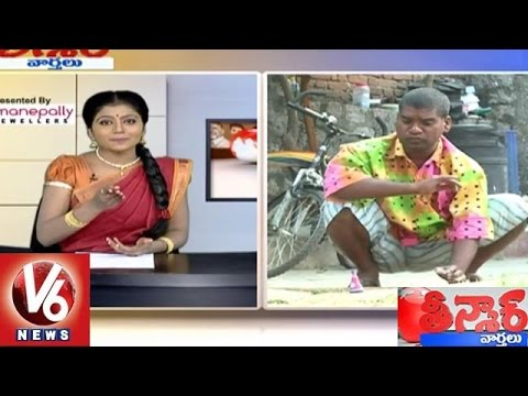 Bithiri Sathi On Diwali Festival | Sathi Funny Conversation With Savitri | Teenmaar News | V6 News