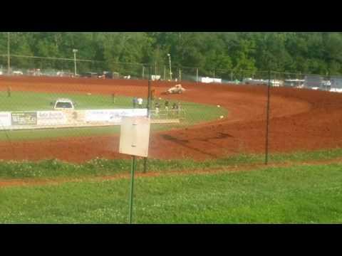 USAC Sprint Car Qualifying Part 1/3  Bloomington Speedway