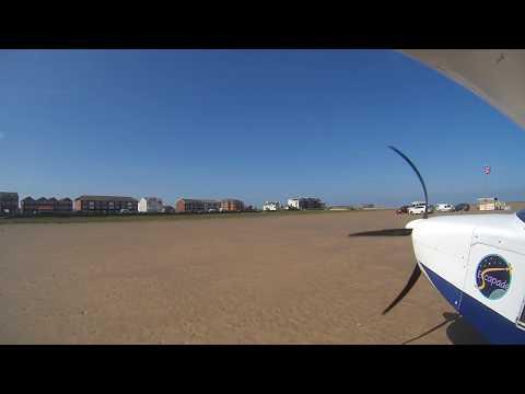 BEACH LANDING AT LANCASHIRE LANDING (NORTHERN AVIATORS)