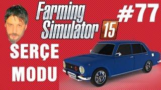 Modlu Farming Simulator 15 Türkçe | Hasad Zamanı | Bölüm 77