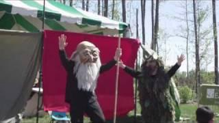 Paperhand Puppet Intervention, Saxapahaw, North Carolina