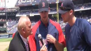 "Durwood ""Mr. Doubletalk"" Fincher Interviews the Boston Red Sox"