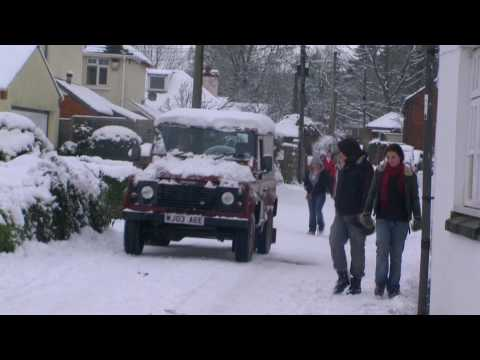 Tiverton, Devon, Snow & Winter Scenes - January 6th 2010 (1/3)