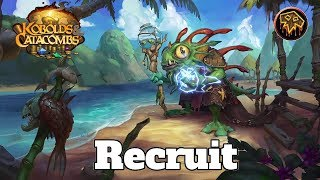 Gameplay Recruit Overload Shaman Kobolds And Catacombs | Hearthstone Guide How To Play