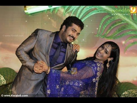 Malayalam Actor Vinu Mohan Wedding Reception