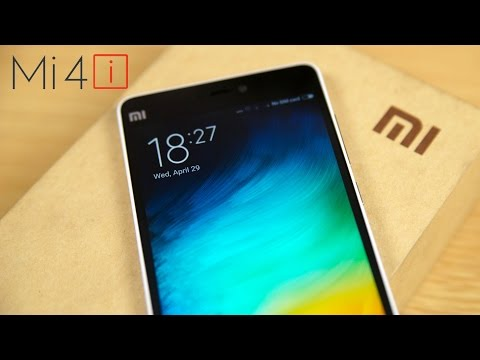 Xiaomi Mi4i - Unboxing & Hands On