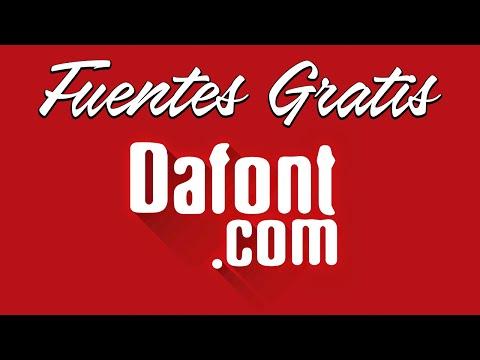 Dafont.com - Descargar fuentes o tipos de letras gratis e instalarlas