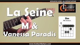 Jouer la rythmique de La Seine (Vanessa Paradis et M) à la guitare acoustique