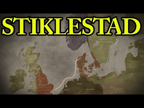 The Battle of Stiklestad 1030 AD