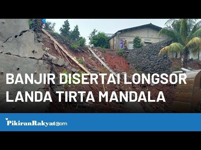 Banjir Disertai Longsor Landa Perumahan Tirta Mandala Depok