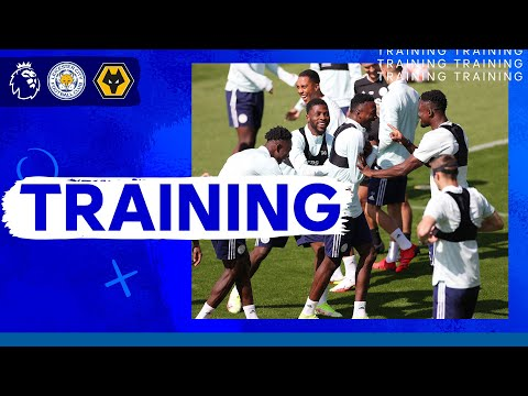 Preparation for the first game of the Premier League of the Foxes |  Leicester City vs. Wolverhampton Wanderers