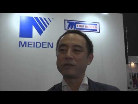 Tetsuo Kawai of Meidensha Corporation at Power Gen Asia 2015