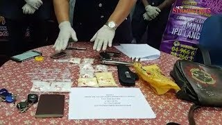 Langkawi cops nab Thai drug pusher with gun, RM25k worth of drugs