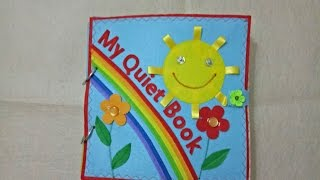 Quiet book for kid - Skill practice book 11/felt book/ busy book