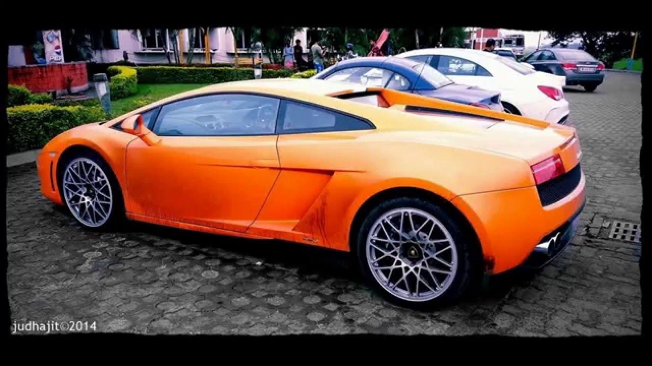 Supercars Kolkata Lamborghini Gallardo Judhajit Youtube