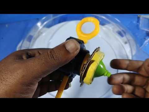 Make a beyblade top from plastic cup paper and cardboard | make a simple Desi beyblade