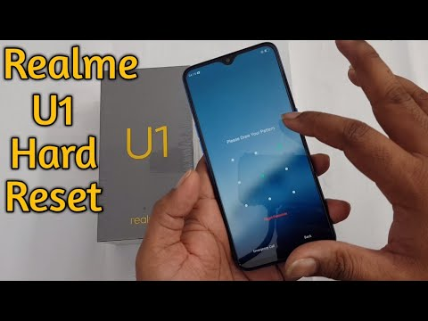 Realme U1 Hard Reset Face Lock Remove Pattern unlock