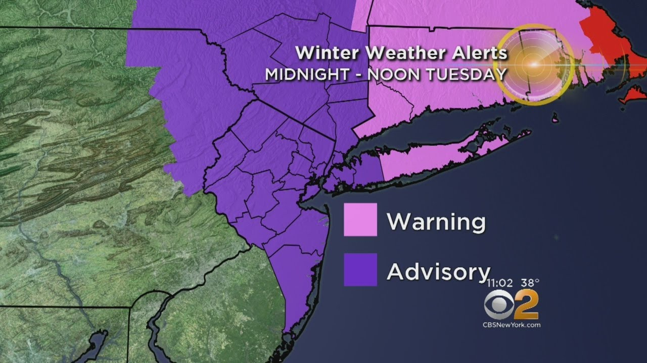 3rd Nor'easter Sets Its Sights On Our Area