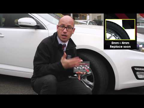 How to Check Your Tyre Tread Depth   Wessex Garages