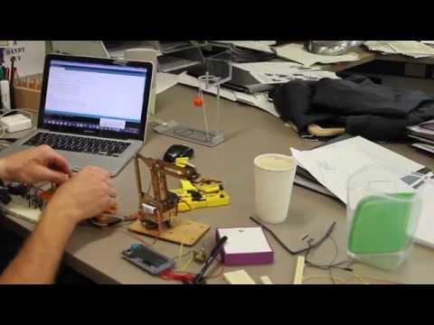 Using an Aurdino MeArm Robotic Arm