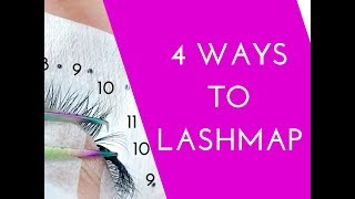 Eyelash Extensions - 4 ways to Lashmap and how it can help you!