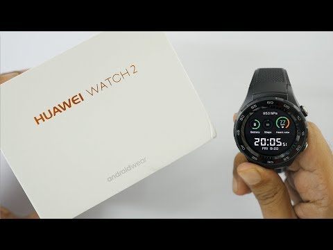 Huawei Watch 2 Smartwatch Unboxing Setup & Overview (Android Wear 2.0)