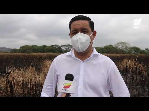 Más de 50 hectáreas fueron devastadas en el humedal La Segua