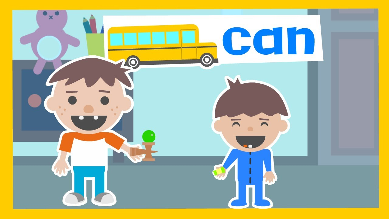 """""""CAN"""" You Play with Me? - Kindergarten Sight Words from Woohoo School"""