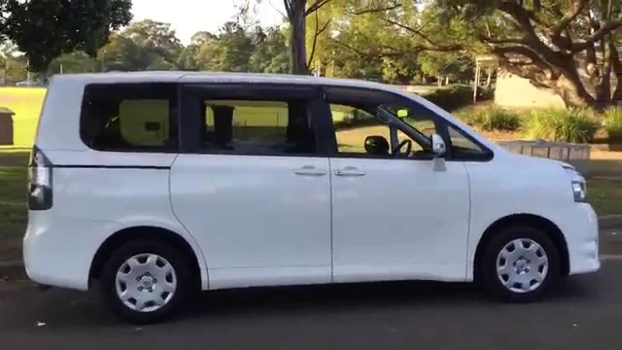 Toyota voxy noah 8 seater review for sale lifter wellcab www edwardlees com au youtube