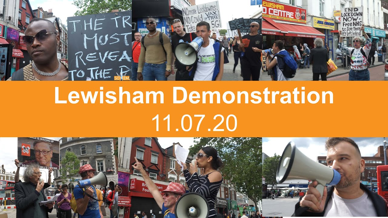 Stand Up X in the Community (Lewisham Anti-New World Order Demonstration)